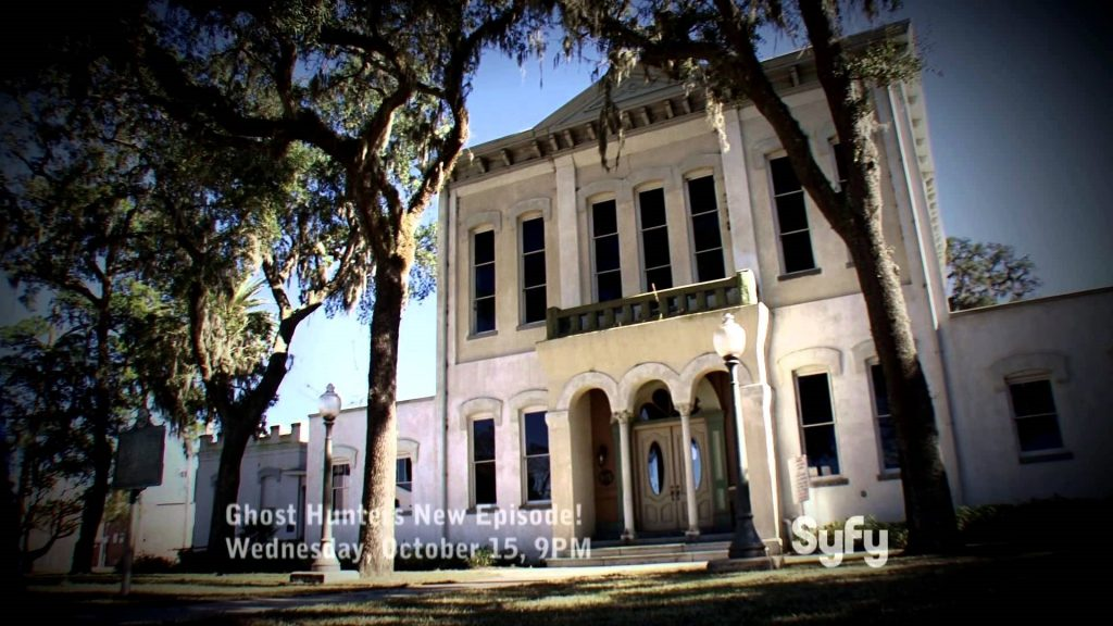 The Old Clay County Courthouse on Ghost Hunters
