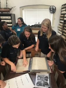4H and FFA Group at Archives with Garig Oct 2018